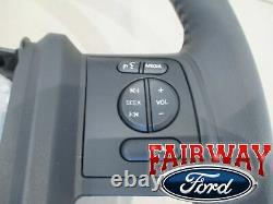 13 Thru 16 Super Duty F250 F350 Oem Ford Volant En Cuir Noir Avec Croisière