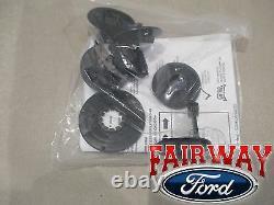 17 À Travers 21 Super Duty Oem Ford Rubber Mat Set 3-pc Extended/crew Pour Vinyl Floor