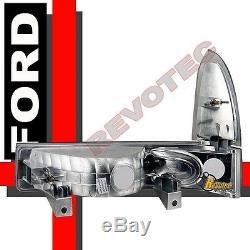 1999-2004 Ford F250 F350 Super Duty Phares Phares Feux De Virage Et Feux Arrière Fumée
