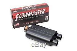 2000-2008 Chevy Silverado Double Échappement Flowmaster Super 44 Silencieux Conseils Chrome