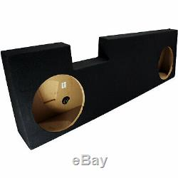 2001-2014 Ford F250 Super Crew Truck Double 12 Stereo Subwoofer Enclosure Sub Box