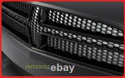 2011-2014 Chargeur Srt8 Kit De Pare-chocs Avant Grille Set Fog Light Conversion Package