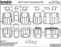 2015 2016 2017 2018 Ford F-150 Xlt Super Crew Katzkin Cuir Seat Lariat Design