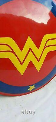 22 Steel Wonder Woman Shield DC Super Hero Amazon War Shield Halloween Cadeau