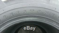 2 23x10.50-12 Deestone D405 6p Super Lug Pneus Ag 23x10.5-12 Tracteur Traction