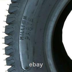 2 24x12.00-12 8 Ply Super Turf Mower Pneus 24x12-12 Pelouse 1710 Lbs