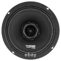 2 Ds18 Pro-zt6 6.5 2 Way Midrange Haut-parleur Loud 900w 4 Ohm Avec Super Tweeter