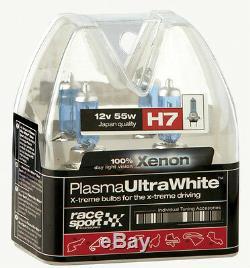 2 H7 Super Bright Xenon Gaz Ultra Blanc Voiture Avant Phares Phares Ampoules