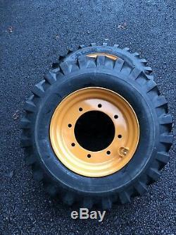 2 Nouvelles 12-16.5 Pneus / Roues / Jante Pour 4x4 Case 580-pelleteuse Super M & L 4wd-119243a1