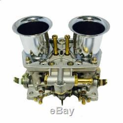 2 X Nouveau Carb Carburateurs Moteur 2 Baril Pour Vw Beetle Super Fiat Weber 40 Idf