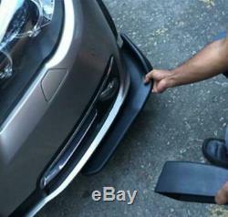 2pcs New Car Auto Spoiler Chouleur Résistant Aux Rayures Aile Décorative