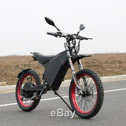 3000with72v Vélo Électrique Scooter Vélo Électrique Vtt Super Fast 75 Kmh