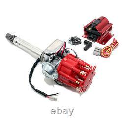 350 454 Sbc Bbc Petit & Big Block Chevy Distributeur Électronique Avec Super Coil