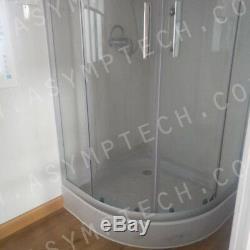40'x2 Prefab Accueil Logement Conteneur Avec Plate-forme Hydraulique Pâques Super Duper