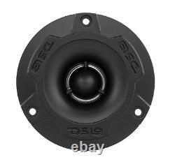 4 Ds18 Pro-gm6b 6.5 Haut-parleurs De Voiture Midrange 4 Pro-twx1 Aluminium Super Tweeters