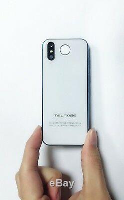4g Le Plus Petit Smartphone Melrose 2019 Super Mini 1 Go 8 Go Android8.1 Dual Sim Téléphone