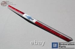 64 Impala Fullsize Chevy Plastic Hood Lip Molding Center Insérer Bowtie Emblem