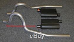 86-04 Système D'échappement Ford Mustang Gt Avec Silencieux Flowmaster Super 44