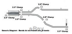 87-96 Échappement Double De Performance De Camion Ford F150 F250 Avec Flowmaster Super 44