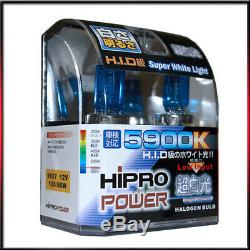 9007 5900k Hid Xenon Halogène Phares Ampoules Lowithhigh