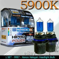 9007 80 / 100w Super White Xenon Halogène Ampoule De Phare