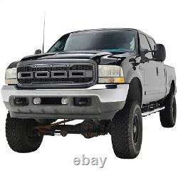 99-04 Raptor Style Grille Pour 99-04 Ford F250 F350 Super Duty Gray