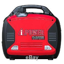 A-ipower 2000 Watt Générateur Inverter Portable Super Silencieux Alimenté Au Gaz Carb / Epa