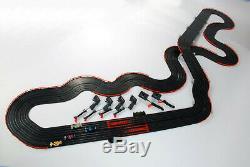Afx Tomy Ho Slotcar Super Race Internationale 4 Lane Car Set Mega G Plus Afx21018