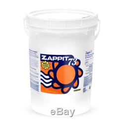 Amortisseur Super Chock Chlorine 73% D'hypochlorite De Calcium Pour Piscine Zappit