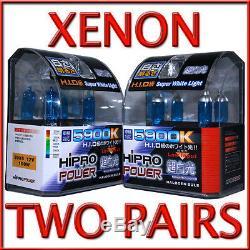 Ampoules De Phares Halogènes Cachées Au Xénon 9005 Et 9006 5900k 100w