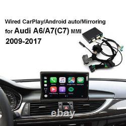 Apple & Android Auto Miroir Carplay Décoder Kit Adapté Pour Audi A6 A7 C7 MMI