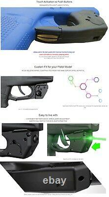 Armalaser Tr6g Glock 26, 27 & 33 Super-bright Green Laser Avec Activation Grip