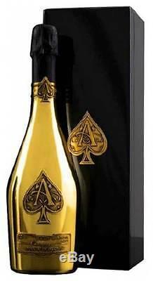 Armand De Brignac Brut D'or As De Pique Une Bouteille 750ml Champagne
