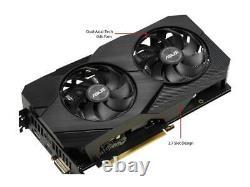 Asus Geforce Gtx 1660 De Super Overclocked 6gb Double Ventilateur Evo Édition Vr Prêt Hdmi D