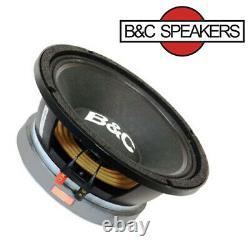 B&c 10md555 10 Midbass Super High Power Output Woofer Speaker 100 Db 8 Ohm