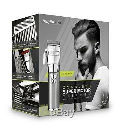 Babyliss Pro Bab8700u High Torque Pro Barbiers Sans Fil De Super Motor Clipper Cheveux
