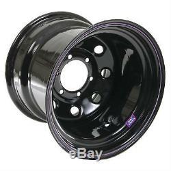 Bart Wheels 15x12 Série 413 Noir Super Trucker Roue 6x5.5 Motif Jeu De 4