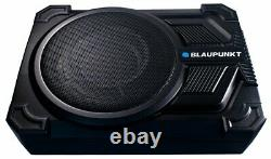 Blaupunkt Gths131 10 Subwoofer Super Slim Amplified Powered +sous Siège +remote