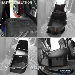 Boîte De Rangement Arrière Oedro Pour La Ford F150 F-150 Super Cabine D'équipage 2009-2014