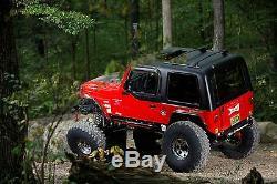 Bulldawgmfg Jeep Wrangler Tj'97'06 Dur Hauts Noir, Blanc Ou Couleur Spice