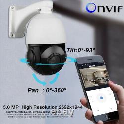 Caméra Ip Ptz Extérieure 5mp Super Hd Pan/tilt 30x Zoom Speed Dome Camera Onvif Ir