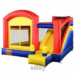 Château Gonflable Moonwalk Jumper Bouncer Bounce House De Goplus Super Slide New