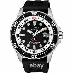 Citizen Promaster Marine Bj7110-11e Eco-drive Super Titanium Men's Diver Watch
