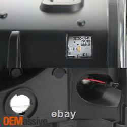 Convient Noir 2005-2007 Ford F250/350/450 Super Duty Light Bar Projecteur Phares