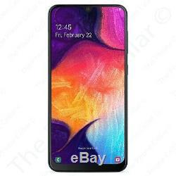 Débloqué Samsung Galaxy A50 A505u 6.4 Super Amoled 64go Noir Smartphone