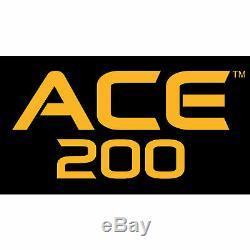 Détecteur De Métaux Garrett Ace 200 Avec Bobine De Recherche Étanche Proformance 6,5 X 9