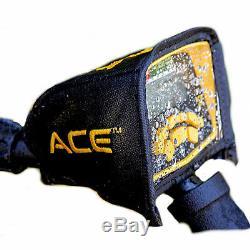 Détecteur De Métaux Garrett Ace 300 Avec Écouteurs Rain Cover Imperméable Bobine Nouveau