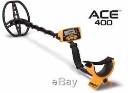 Détecteur De Métaux Garrett Ace 400 Avec Bobine Submersible Et Kit D'accessoires Gratuits