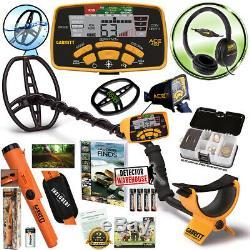 Détecteur De Métaux Garrett Ace 400 Avec Écouteurs Et Propointer At, Accessoires Gratuits