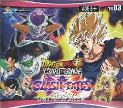 Dragon Ball Super Carte Booster Boîte De Jeu Clash De Fates Tb03